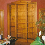 Bow Ended Dining Room Bookcase